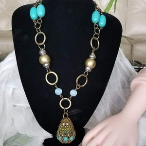 NWT Pam Hiran Anthropologie Necklace